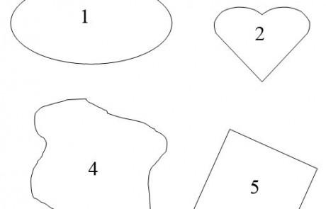 שטחים והקפים דף עבודה